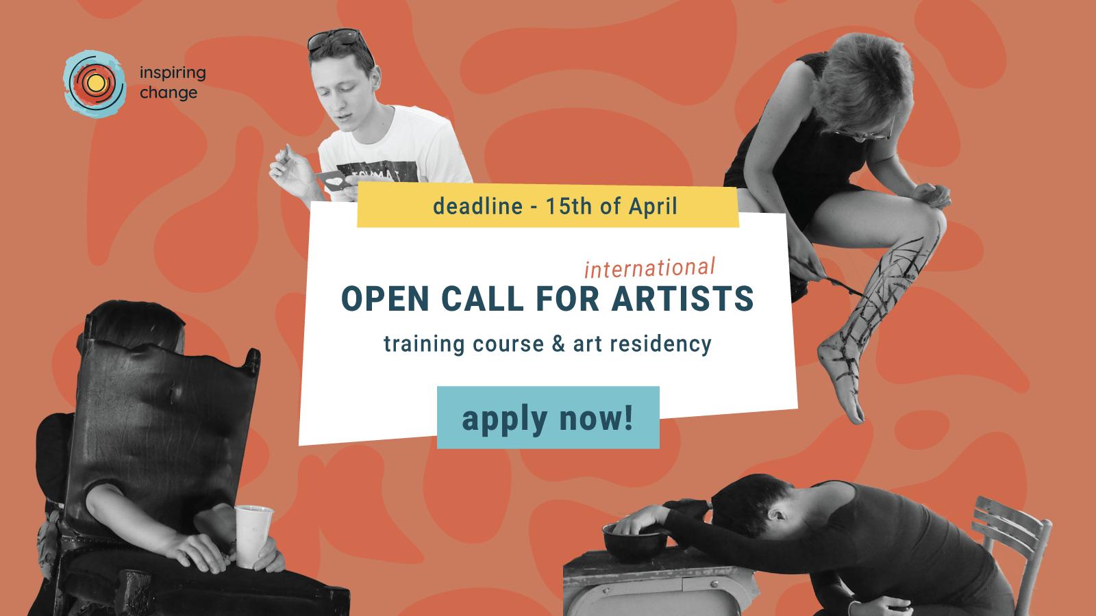 inspiring change open call art residency